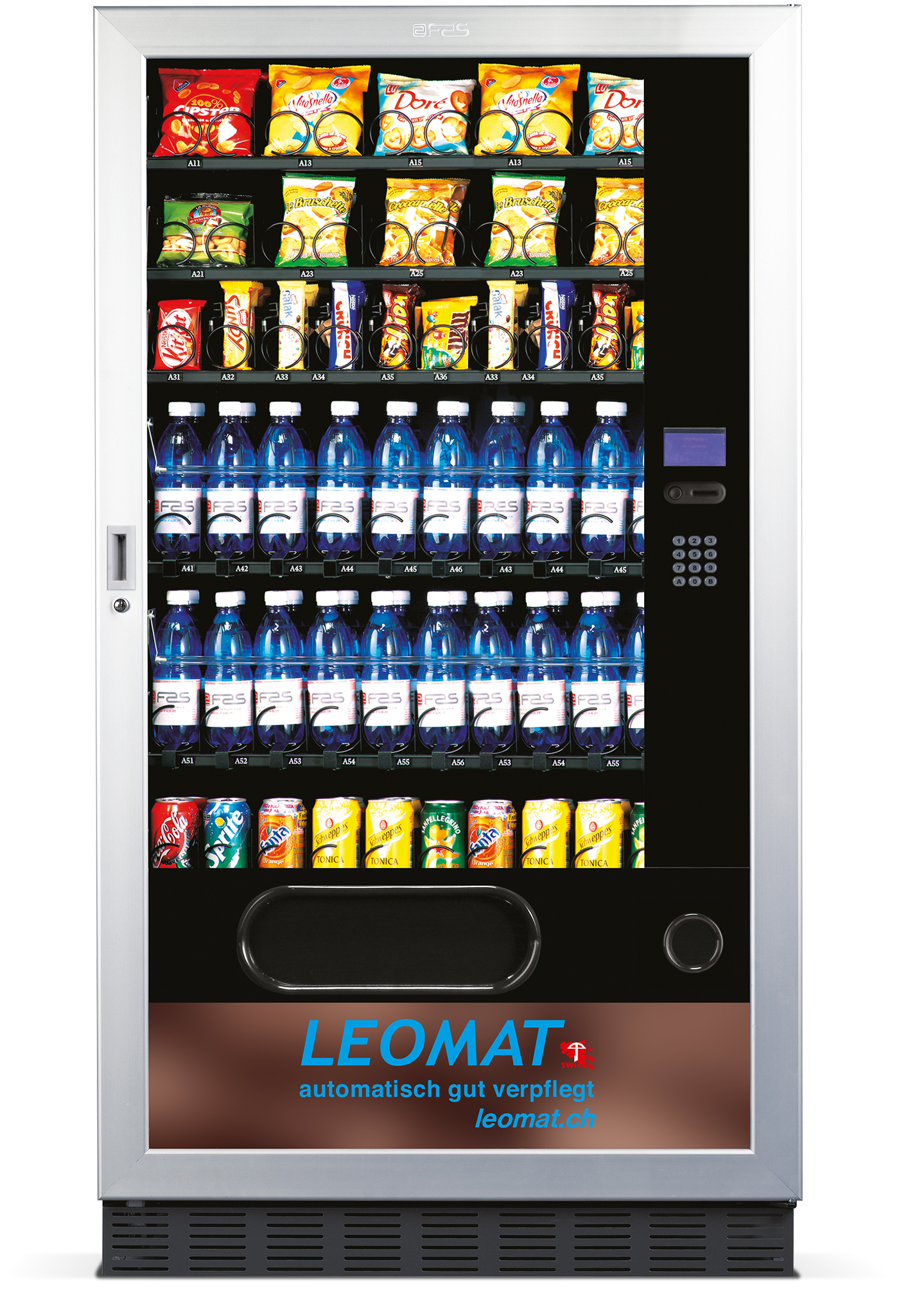 verpflegungsautomat  u0026 snackautomat fast 1050